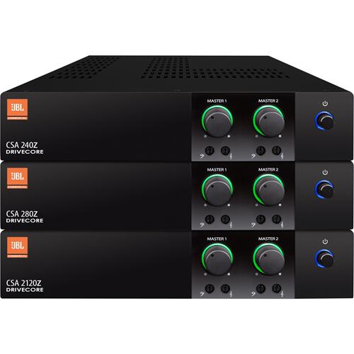 JBL Commercial CSA 240Z Amplifier - 80 W RMS - 2 Channel - 50 W - Ethernet