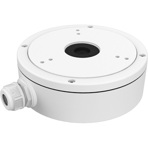 Hikvision DS-1280ZJ-M Mounting Box for Network Camera - 4.50 kg Load Capacity - White