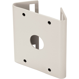 Hanwha Techwin SBP-300PM Pole Mount for Wall Mounting System, Mounting Base - Ivory