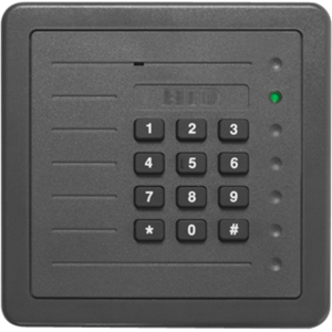 HID ProxPro 5355A Smart Card Reader - Grey - 203.20 mm Operating Range - Wiegand