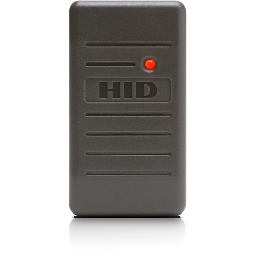 HID ProxPoint Plus 6005B Smart Card Reader - Grey - 76.20 mm Operating Range - Wiegand