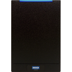 HID multiCLASS SE Contactless Smart Card Reader - Black - Cable119.38 mm Operating Range