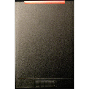 HID iCLASS SE Smart Card Reader - Black - Cable88.90 mm Operating Range
