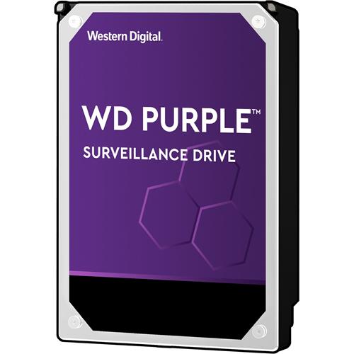 """WD Purple WD80PURZ 8 TB 3.5"""" Internal Hard Drive - SATA - 5400rpm - 128 MB Buffer"""