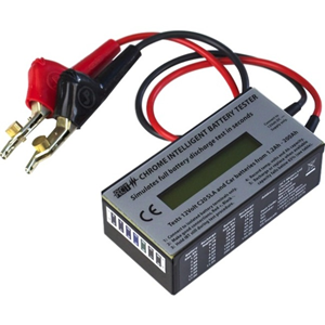 ACT CHROME Battery Testing Device - Voltage Monitor, Current Measurement