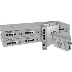 ComNet CopperLine CLFE1EOU Network Extender - 1 x Network (RJ-45) - 1.52 km Extended Range
