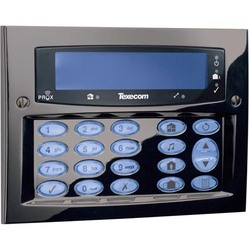 Texecom Premier Elite Programming Keypad - For Control Panel - Gunmetal