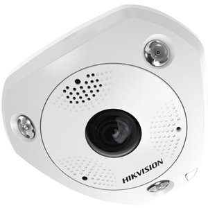 Hikvision DS-2CD63C2F-IVS 12 Megapixel Network Camera - Colour - 15 m Night Vision - Motion JPEG, H.264 - 4000 x 3072 - 1.98 mm - CMOS - Cable - Ceiling Mount, Wall Mount, Table Mount