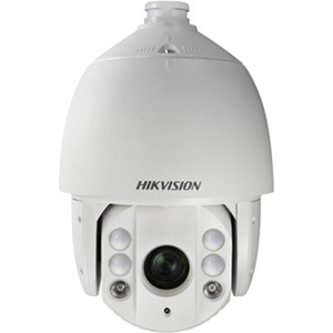 Hikvision DS-2DE7330IW-AE 3 Megapixel Network Camera - Monochrome, Colour - 150 m Night Vision - Motion JPEG, H.264 - 2048 x 1536 - 4.30 mm - 129 mm - 30x Optical - CMOS - Cable - Dome - Pole Mount, Wall Mount, Corner Mount