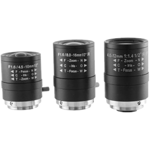 Arecont Vision MPL4-10 - 4 mm to 10 mm - f/1.8 Lens - 2.25 Optical Zoom - 38.1 mmDiameter