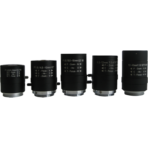 Arecont Vision MPL4-12 - 4 mm to 12 mm - f/1.4 - Zoom Lens for CS Mount - 3x Optical Zoom - 30.5 mmDiameter