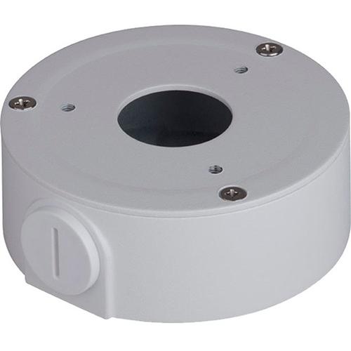 Dahua DH-PFA134 Mounting Box for Network Camera, Pole Mount - 1 kg Load Capacity - White