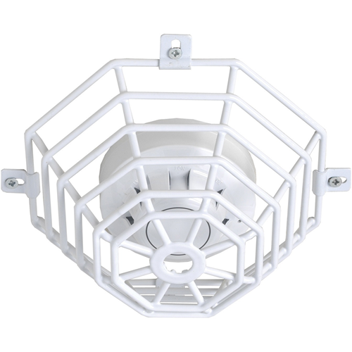 STI Steel Web Stopper STI-9604 Security Cover for Smoke Detector - Damage Resistant, Corrosion Resistant, Tamper Resistant - Stainless Steel