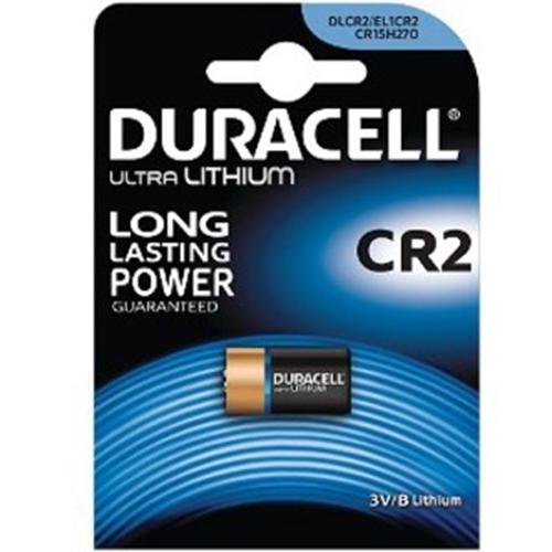 Duracell Battery - 780 mAh - CR2 - Lithium (Li) - 3 V DC