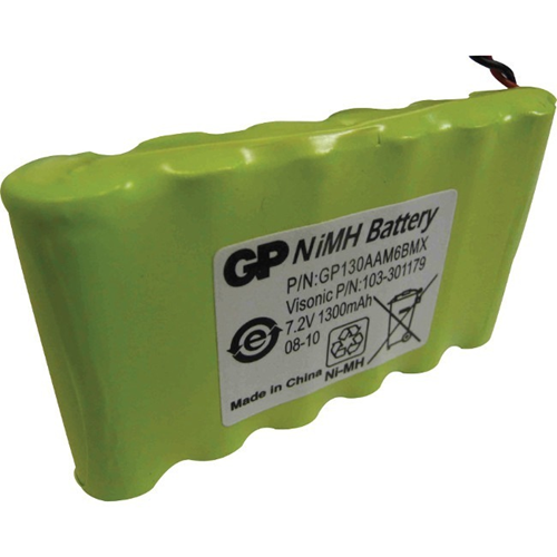 Visonic GP Security Device Battery - 1300 mAh - AA - Nickel Metal Hydride (NiMH) - 7.2 V DC