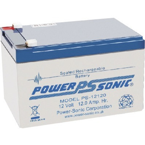 Power-Sonic PS-12120 Multipurpose Battery - 12000 mAh - Proprietary Battery Size - Sealed Lead Acid (SLA) - 12 V DC - Battery Rechargeable