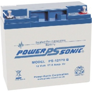 Power-Sonic PS-12170 Multipurpose Battery - 17000 mAh - Sealed Lead Acid (SLA) - 12 V DC - Battery Rechargeable - 1 / Pack