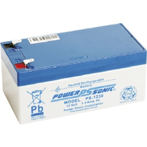 Power-Sonic PS-1230 Multipurpose Battery - 3400 mAh - Sealed Lead Acid (SLA) - 12 V DC - Battery Rechargeable