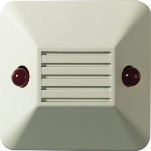 UTC Fire & Security Alarm Indicator for Alarm System - Polycarbonate - Red
