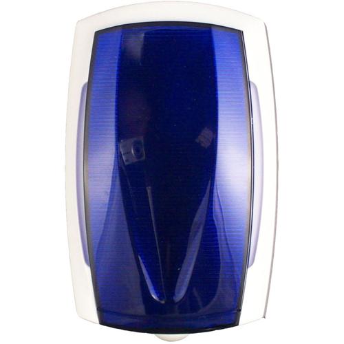 CQR Horn/Strobe - 15 V DC - 115 dB - Audible, Visual - Blue, White