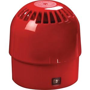 Apollo Security Alarm - 28 V DC - 100 dB(A) - Audible - Wall Mountable - Red