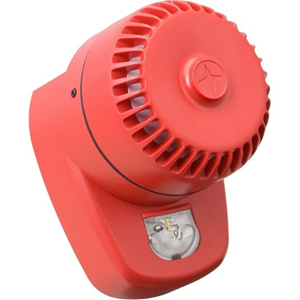 Eaton RoLP LX Security Alarm - 60 V DC - 102 dB(A) - Audible, Visual - Red, Red