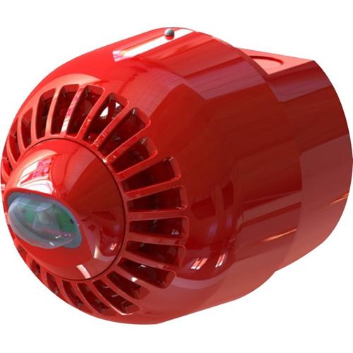 Klaxon Sonos Security Alarm - 60 V DC - Audible - Wall Mountable - Red, White