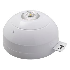Apollo Visual Alarm Device - 28 V DC - Audible, Visual - Ceiling Mountable - White