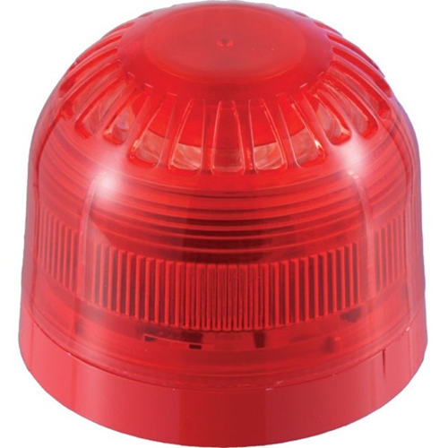 Klaxon Sonos Security Strobe Light - 60 V DC - Visual - Red