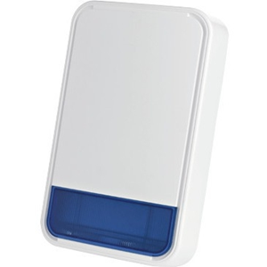 Visonic MCS-730 Siren - Wireless - 3.60 V - 110 dB - Audible, Visual - Wall Mountable
