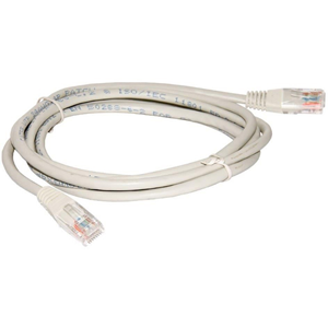Connectix Category 5e Network Cable for Network Device - 50 cm - 1 x RJ-45 Male Network - 1 x RJ-45 Male Network - Patch Cable - Grey