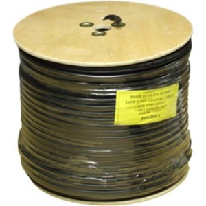 Voltek Coaxial Video/Power Cable for Camera - 250 m - Shielding - Bare Wire - Bare Wire