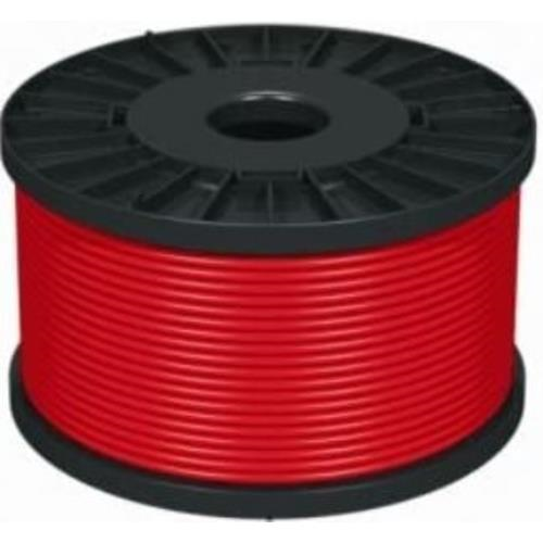 NoBurn FireWire Control Cable for Fire Alarm - 100 m - 1 Pack - Red