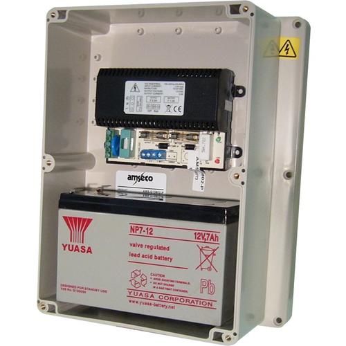 Amseco Power Supply - 120 V AC, 230 V AC Input Voltage - 13.8 V DC Output Voltage - Box