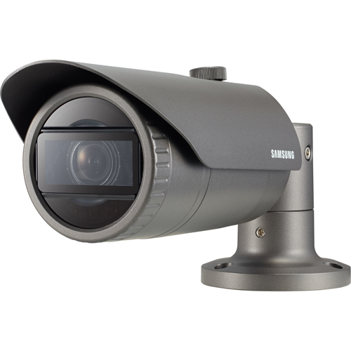 Hanwha Techwin WiseNet QNO-6070RP 2 Megapixel Network Camera - Monochrome, Colour - 30 m Night Vision - Motion JPEG, H.264, H.265 - 1920 x 1080 - 2.80 mm - 12 mm - 4.3x Optical - CMOS - Cable - Bullet