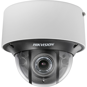 Hikvision Darkfighter DS-2CD4D26FWD-IZS 2 Megapixel Network Camera - Monochrome, Colour - 30 m Night Vision - H.265+, H.265, H.264+, H.264, Motion JPEG - 1920 x 1080 - 2.80 mm - 12 mm - 4.3x Optical - CMOS - Cable - Dome - Wall Mount, Pendant Mount, Pole Mount, Corner Mount