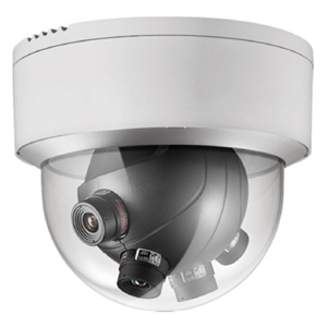 Hikvision Darkfighter DS-2CD6986F-H 7.3 Megapixel Network Camera - Colour - Motion JPEG, H.264 - 4096 x 1800 - 5 mm - CMOS - Cable - Dome