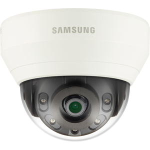 Hanwha Techwin WiseNet QND-6010RP 2 Megapixel Network Camera - Colour - 20 m Night Vision - Motion JPEG, H.264, H.265 - 1920 x 1080 - 2.80 mm - CMOS - Cable - Dome