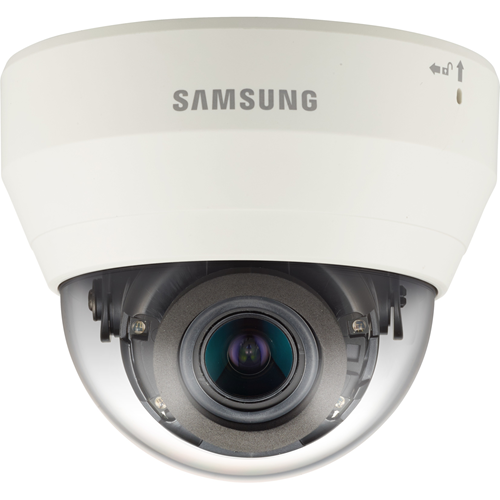 Hanwha Techwin WiseNet QND-6070RP 2 Megapixel Network Camera - Colour - 20 m Night Vision - Motion JPEG, H.264, H.265 - 1920 x 1080 - 2.80 mm - 12 mm - 4.3x Optical - CMOS - Cable - Dome