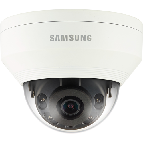 Hanwha Techwin WiseNet QNV-7010RP 4 Megapixel Network Camera - Colour - 20 m Night Vision - Motion JPEG, H.264, H.265 - 2592 x 1520 - 2.80 mm - CMOS - Cable - Dome