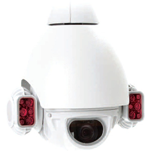 REDVISION X-Series RVX20-IR-BLK Surveillance Camera - Colour - 150 m Night Vision - 4.70 mm - 94 mm - 20x Optical - CMOS - Cable - Dome