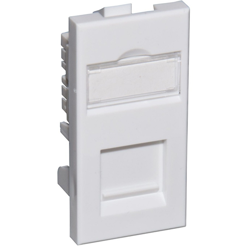 Connectix Faceplate Module - Polycarbonate, ABS Resin - Wall Mount