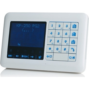 Visonic KP-250 PG2 Security Keypad - For Control Panel