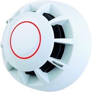 C-TEC ActiV Fixed Temperature Heat Detector - White