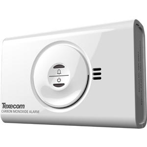 Texecom Premier Elite CO-W Gas Leak Sensor - Wireless - Carbon Monoxide - Gas Detection - 4 Year Battery - Alkaline