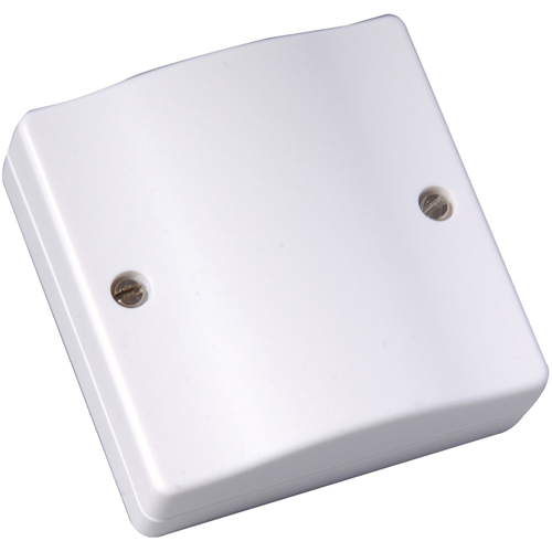 CQR Mounting Box - Polystyrene - White