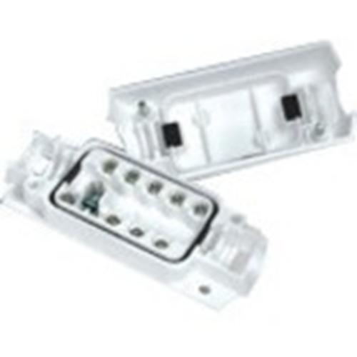 Potter EN3-JB9-HD Mounting Box - Acrylonitrile Butadiene Styrene (ABS) - White