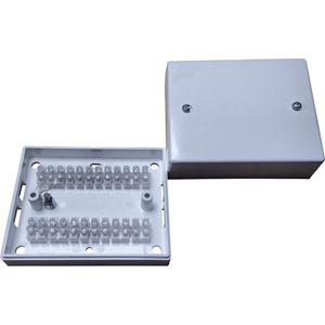 Knight Fire & Security J24 Mounting Box - Stainless Steel, High Impact Polystyrene (HIPS) - White