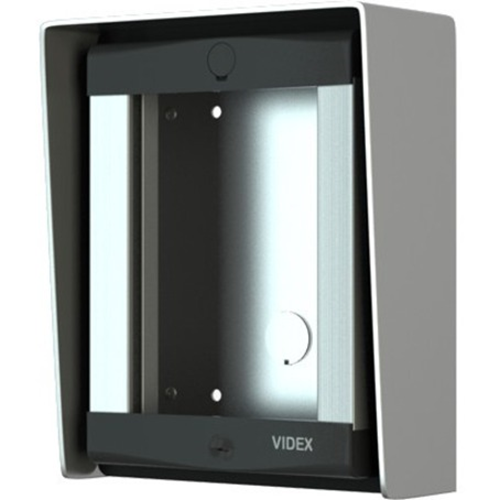 VIDEX Mounting Box - 1 x Total Number of Socket(s) - Aluminium - Surface Mount