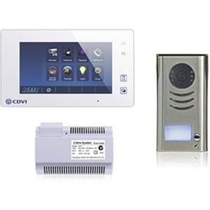"CDVI CDV4791-W 17.8 cm (7"") Video Master Station - Touchscreen TFT LCD - Half-duplex - Door Entry"